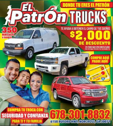 El Patron Trucks magazine cover