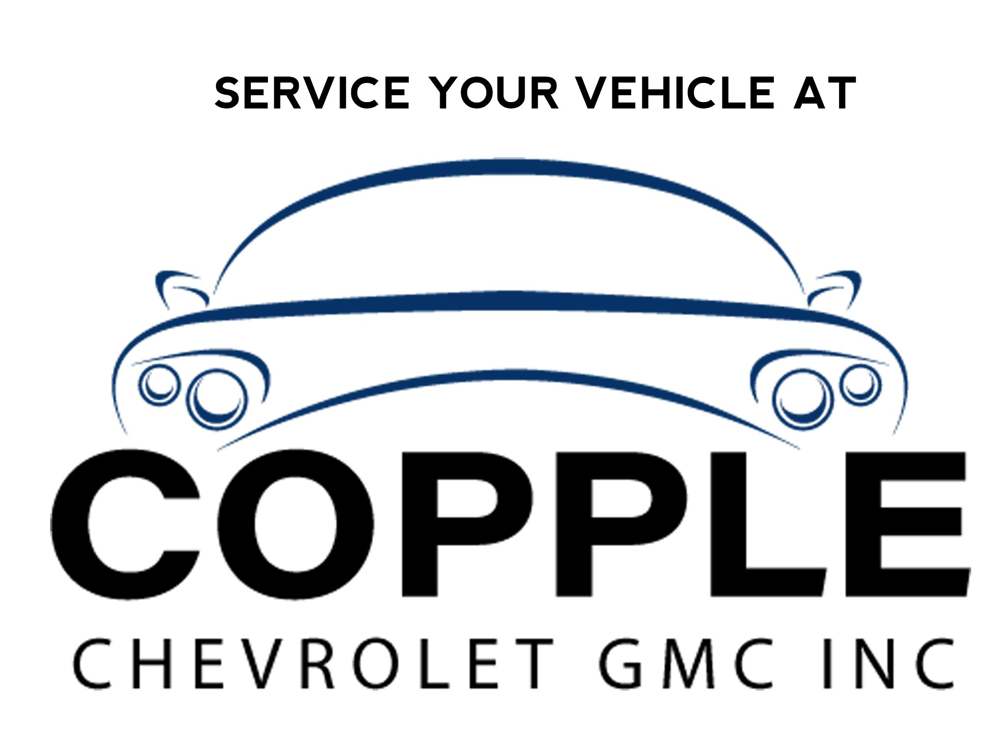 SERVICE YOUR VEHICLE AT Copple Chevrolet GMC Inc