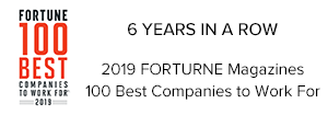 Fortune 100 best companies to work for 6 years in a row