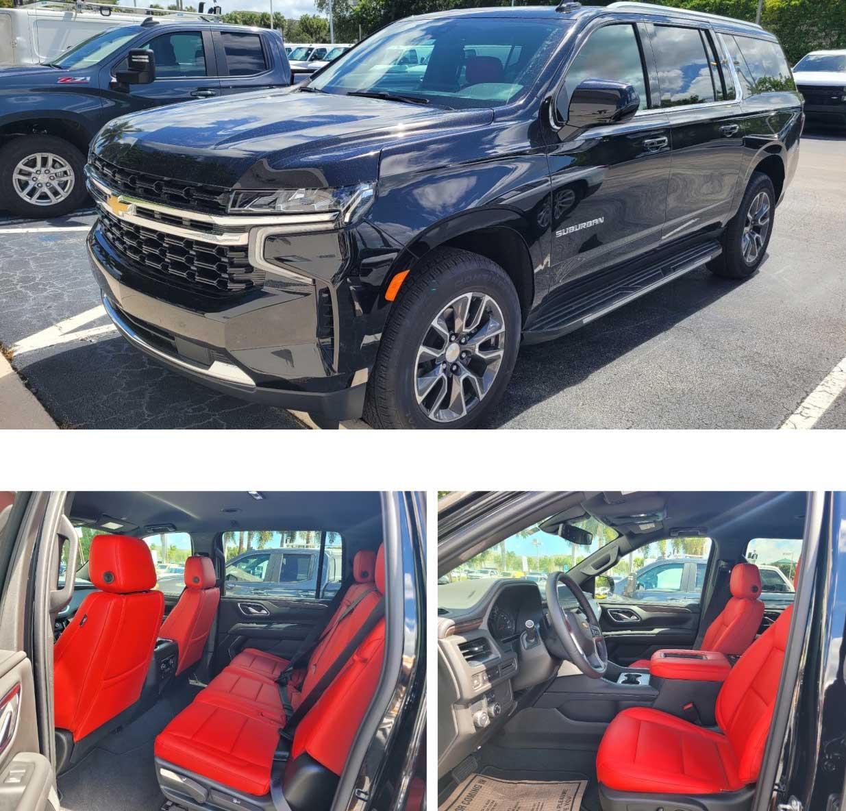 2021 Chevrolet suburban Red Bottom Edition