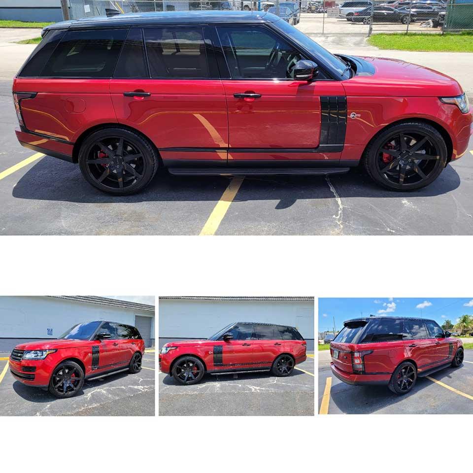2018 Range Rover HSE Diesel SVR Edition