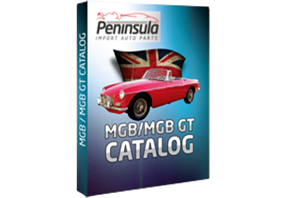 MGB & MGB-GT PARTS CATALOGUE