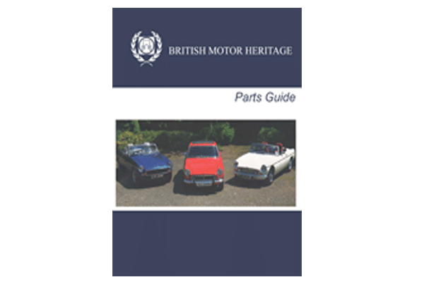 BMH PARTS GUIDE
