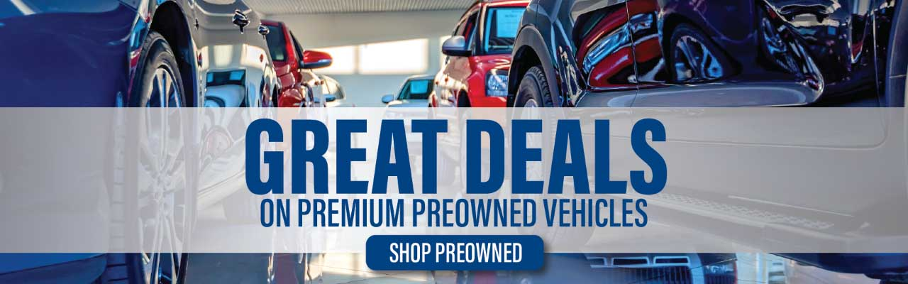 Great Deals on Premium Pre-Owned Vehicles