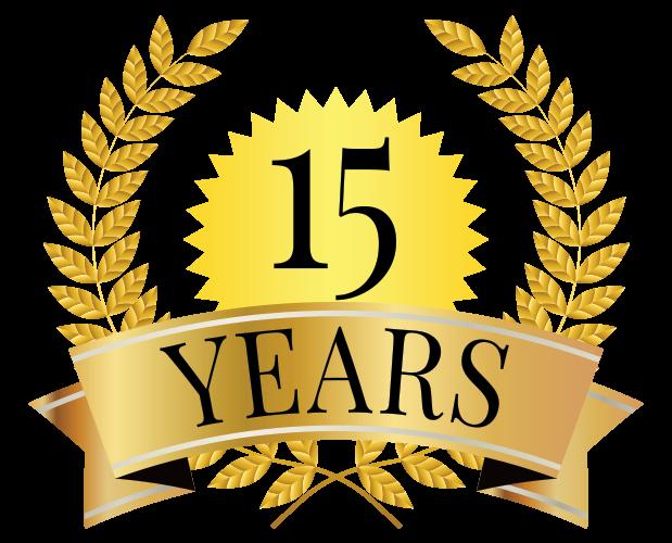 15 year award