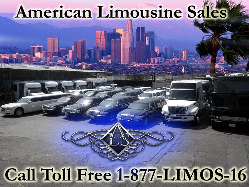 American Limousine Sales call toll free 1877limos16
