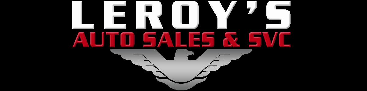 LEROY'S AUTO SALES & SVC
