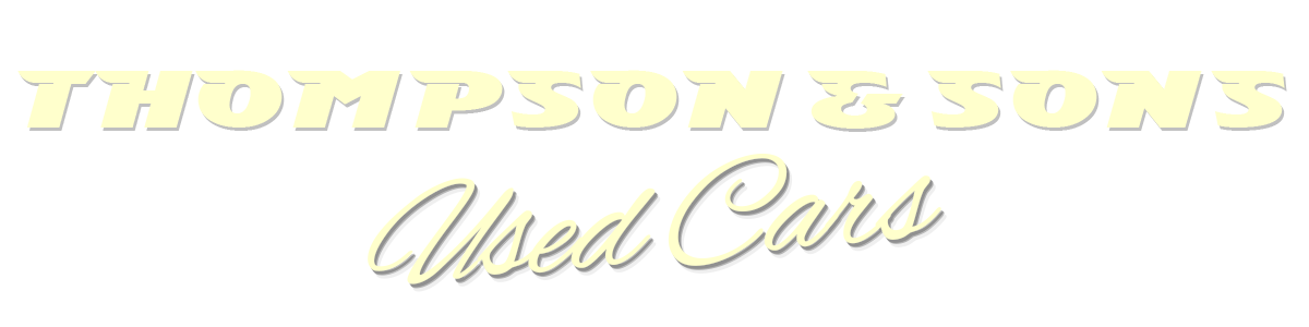THOMPSON & SONS USED CARS