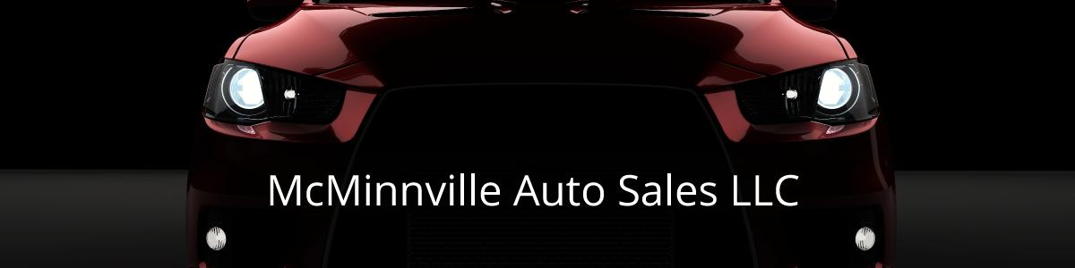 McMinnville Auto Sales LLC