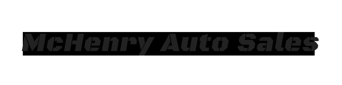 MCHENRY AUTO SALES