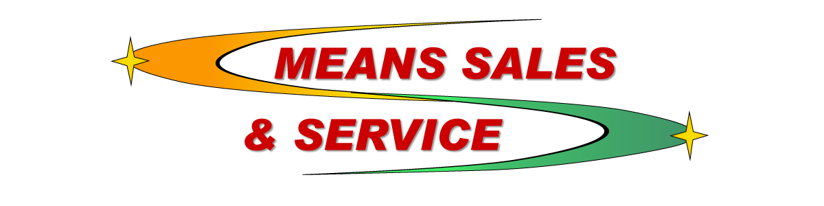 MEANS SALES & SERVICE