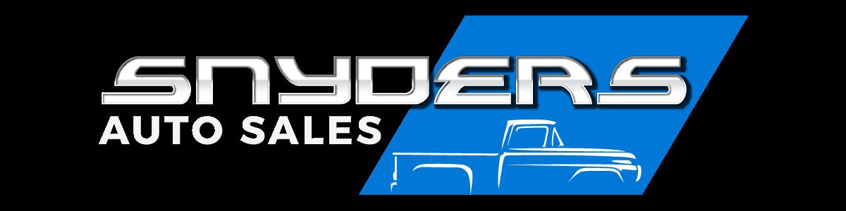 Snyders Auto Sales