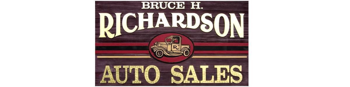 Bruce H Richardson Auto Sales
