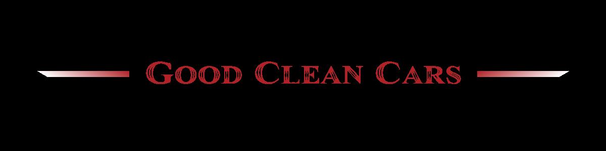 Good Clean Cars