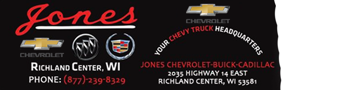 Jones Chevrolet Buick Cadillac
