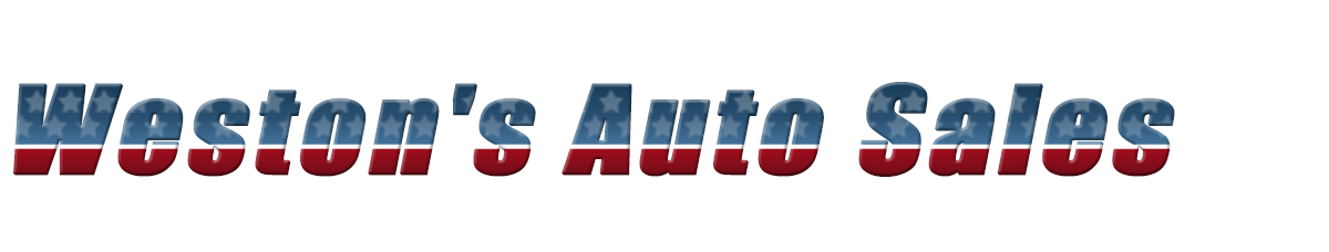 Weston's Auto Sales, Inc