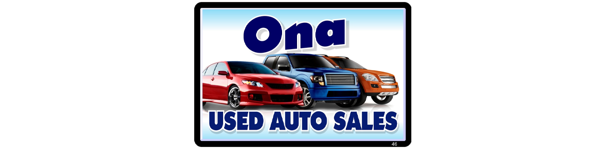 Ona Used Auto Sales