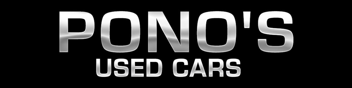 PONO'S USED CARS