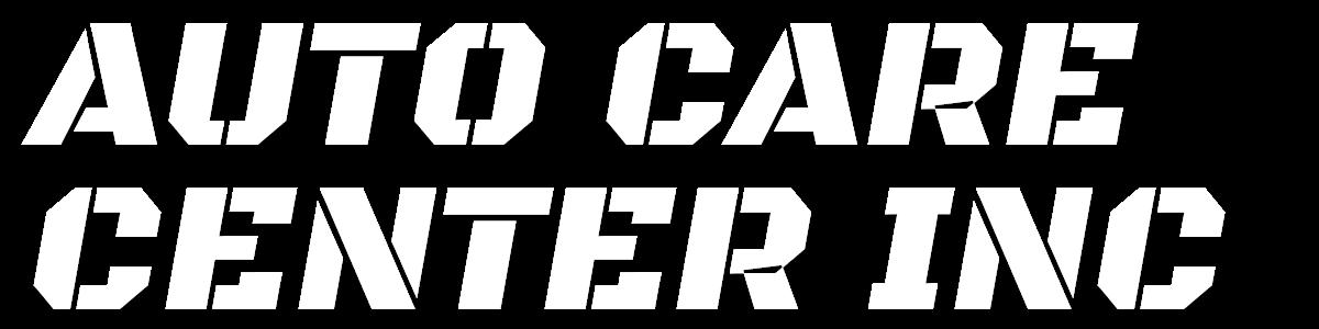 AUTO CARE CENTER INC