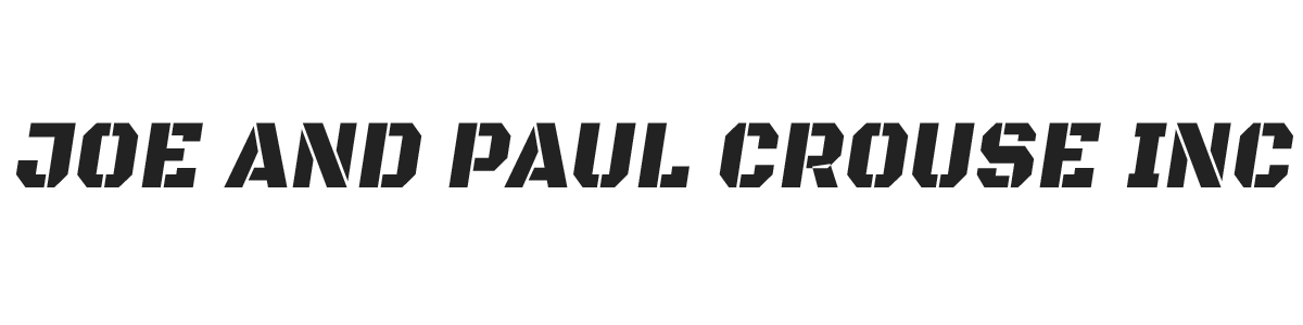 Joe and Paul Crouse Inc.