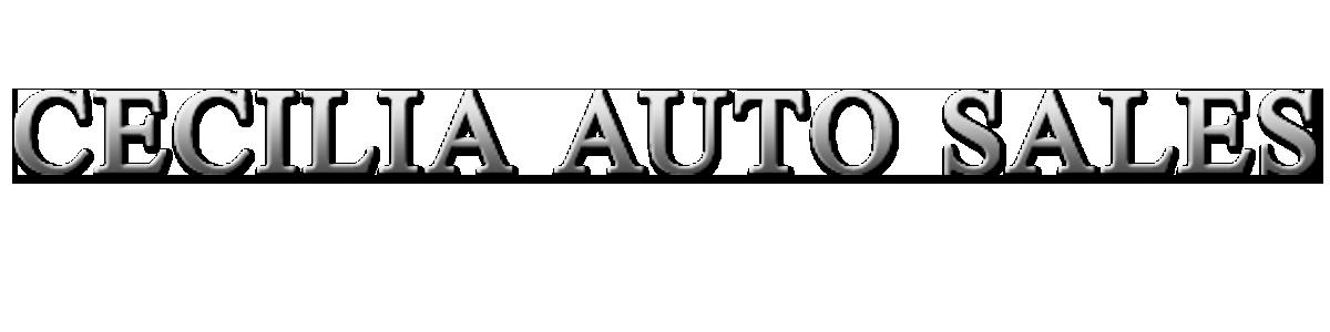 Cecilia Auto Sales