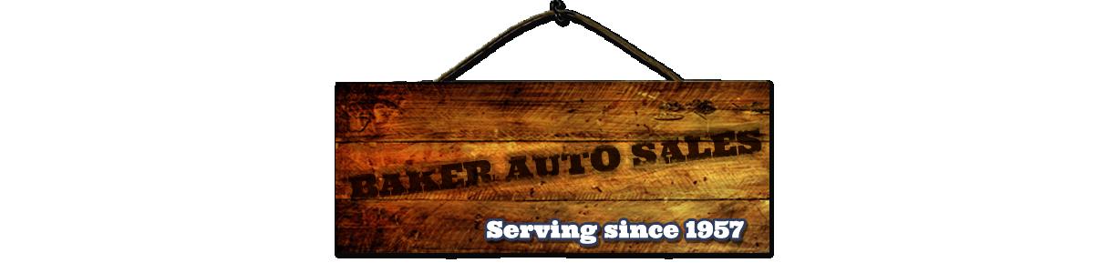 Baker Auto Sales
