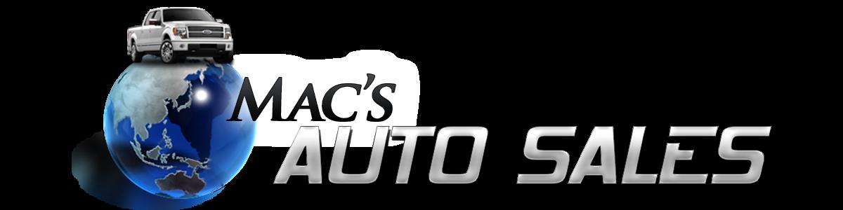 Mac's Auto Sales
