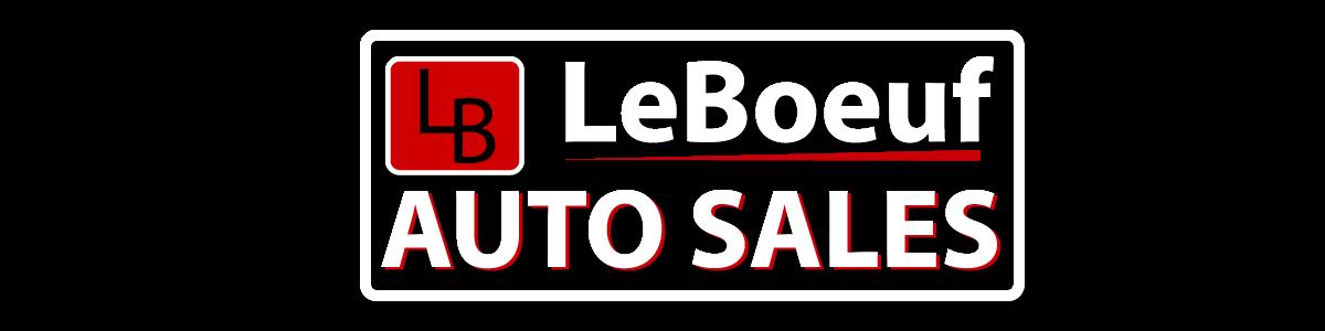 LeBoeuf Auto Sales