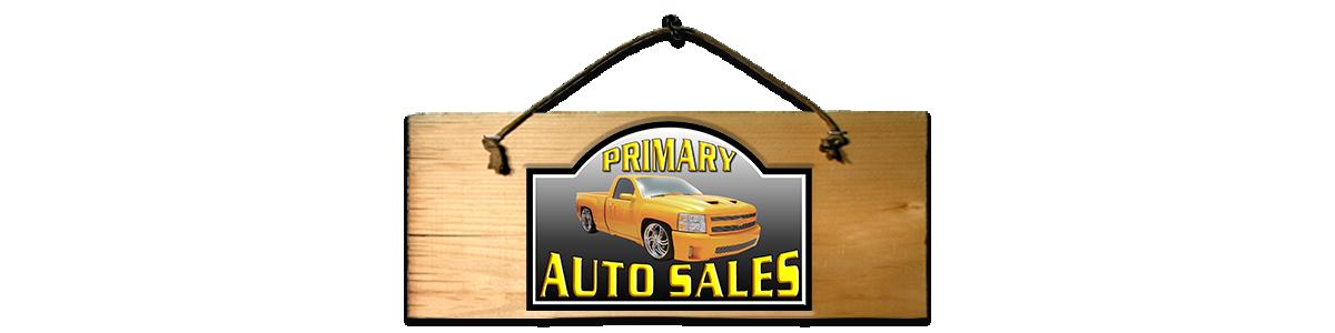 PRIMARY AUTO SALES INC