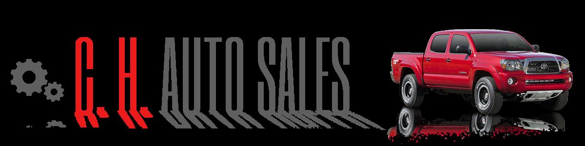 C. H. Auto Sales