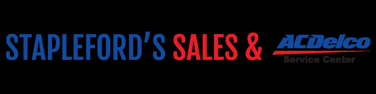STAPLEFORD'S SALES & SERVICE